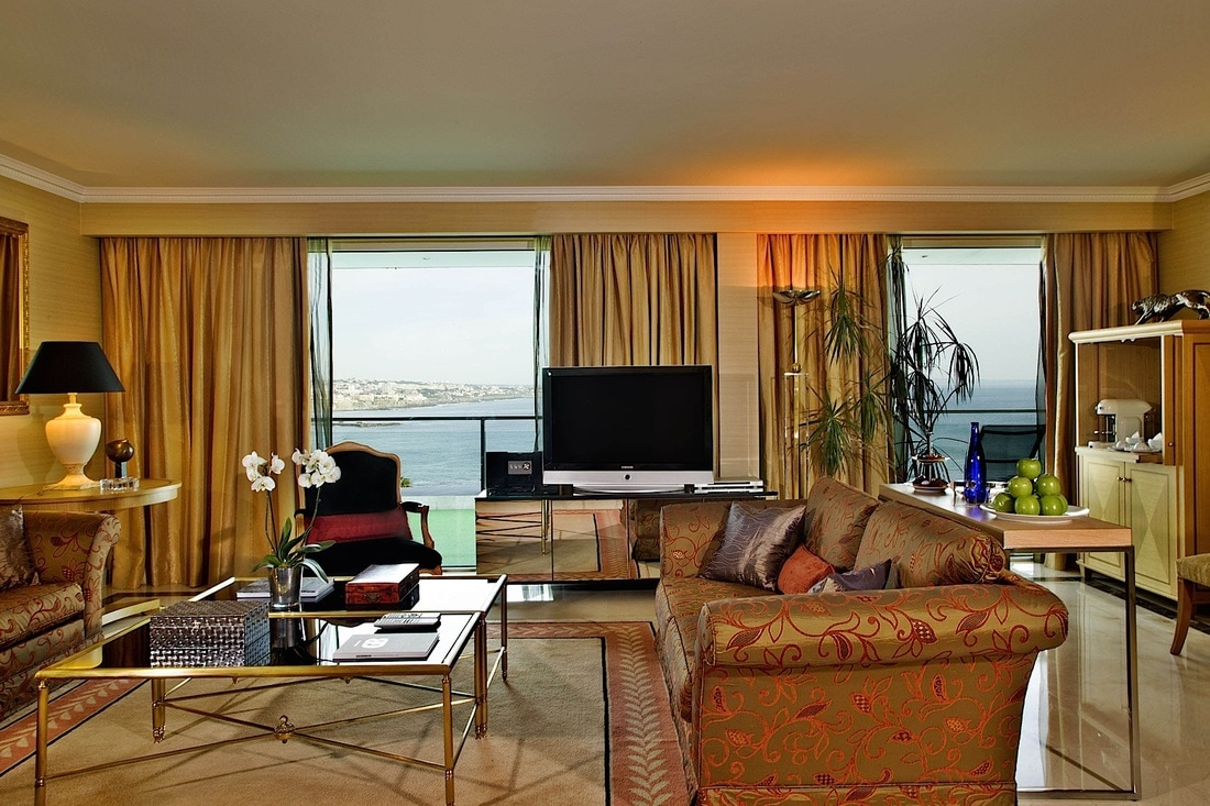 Presidential suite at Cascais Miragem Health & Spa hotel